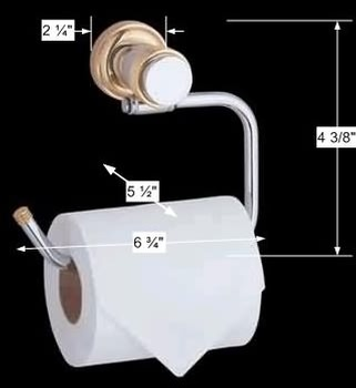 spec-<PRE>Victorian Toilet Paper Holder Stand Bright Chrome Tissue Holder for Bathroom</PRE>