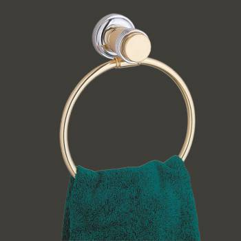 <PRE>Victorian Solid Brass Towel Ring for Bathroom 6 3/4 Inch</PRE>zoom2