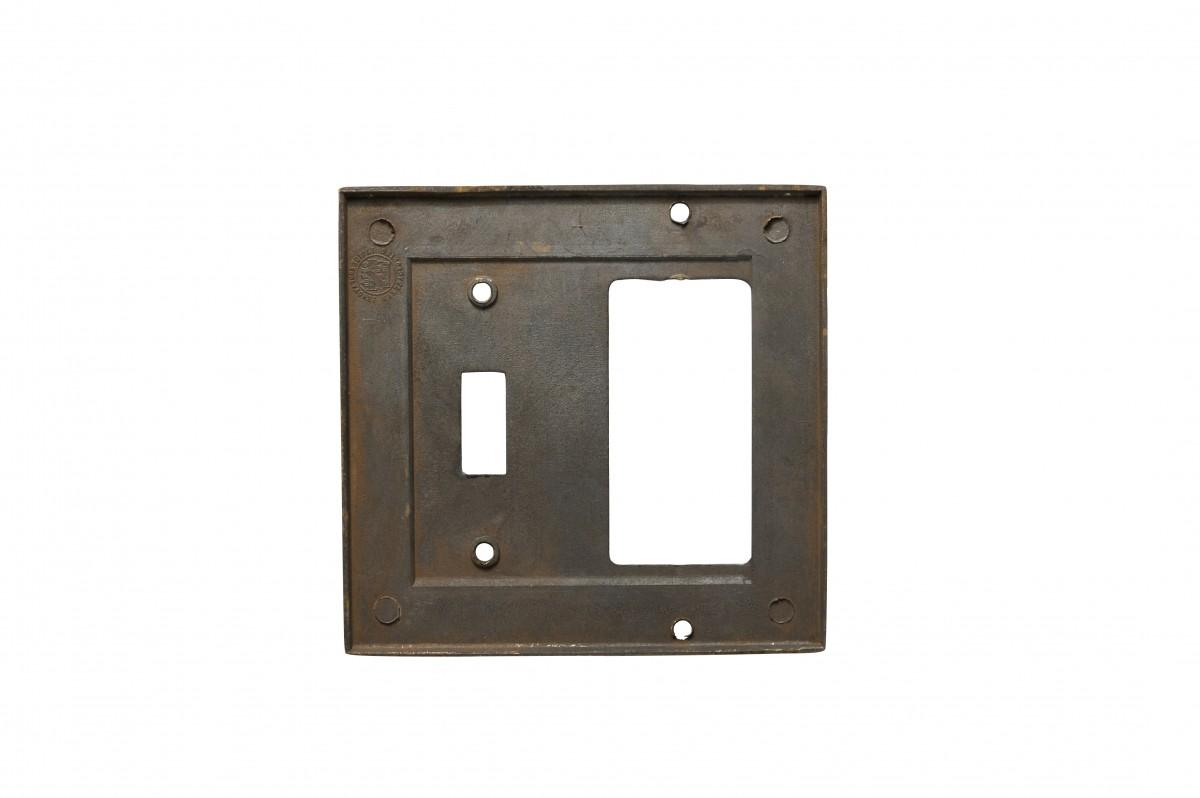 Victorian Switch Plate Toggle GFI Antique Solid Brass Switch Plate Wall Plates Switch Plates
