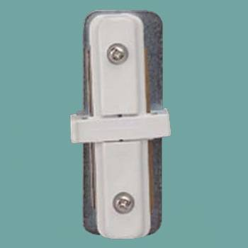 Type I Connector White - Floor Heat Registers, Aluminum, steel, wood and brass Floor heat registers info & free shipping by Renovator's Supply.