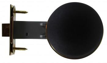 <PRE>Black Interior Door Hardware 2 3/8 in. Door Passage Set</PRE>zoom6