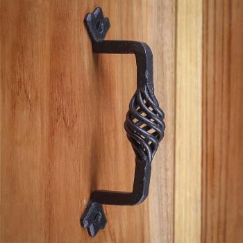 Door Pull Wrought Iron Birdcage 5 1/4