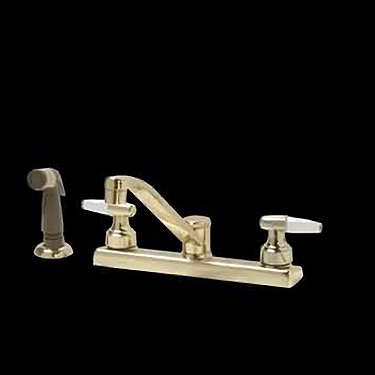 Widespread Kitchen Faucet Brass 2 Handles W Sprayer Sink Faucet Sink Faucets Faucets