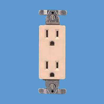 Outlet Ivory Duplex Outlet Outlets Switchplate