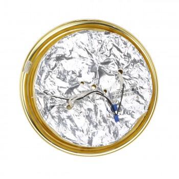 <PRE>Ceiling Light Brass Flush Mount Frost Swirl 15 1/4 </PRE>zoom6
