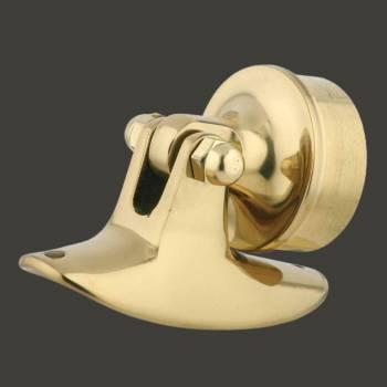 Bar Bracket Polished Solid Brass Saddle Plug Fit 1.5 Tube Bar Bracket Bar Hardware Mounting Brackets