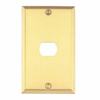 <PRE>Switchplate Solid Brass 1 Interchangeable/Despard </PRE>zoom1