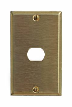 Switchplate Brushed Brass 1 InterchangeableDespard Switch Plate Wall Plates Switch Plates