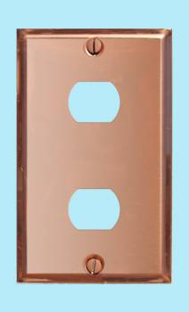 <PRE>Switchplate Solid Copper 2 Interchangeable/Despard </PRE>zoom2