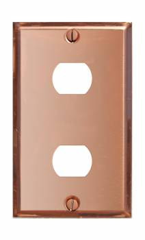 Switchplate Solid Copper 2 Interchangeable/Despard 96039grid