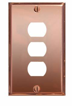 <PRE>Switchplate Solid Copper 3 Interchangeable/Despard </PRE>zoom1