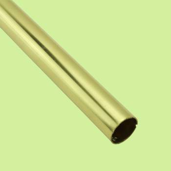 Carpet Rod Bright Solid Brass Tubing 39.5 L 12 Dia Rod Only Carpet Rod Carpet Rods Stair Rod
