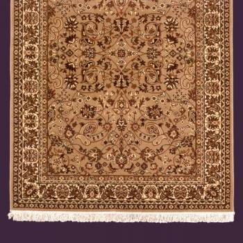 Rectangular Area Rug 7 6 x  5 3 Brown Polypropylene Rugs Rug Decorative Rugs
