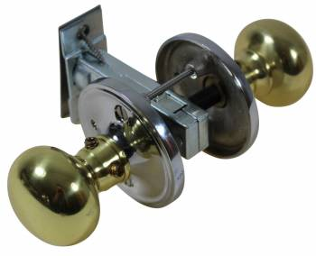 Privacy Door Knob Set Solid Brass Colonial 2 3/8