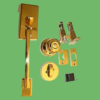 <PRE>Door Locks Solid Brass Entrance Set 12.25inchL x 2 3/8&quot; Backset</PRE>zoom2