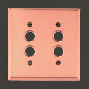 Switchplates And Wall Plates Bright Copper Switchplates By The