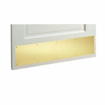 Door Kick Plate Solid Brass 10