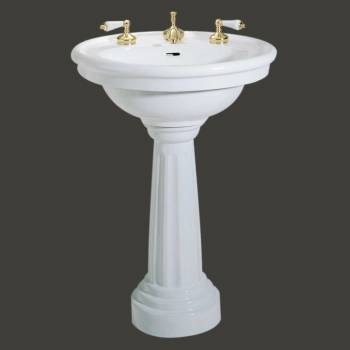 <PRE>White Ceramic Bathroom Pedestal Sink Freestanding Sink</PRE>zoom2