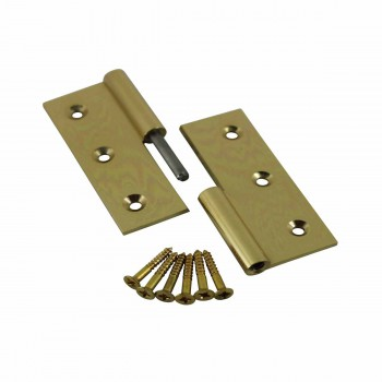 "<PRE>Cabinet Hinge Solid Brass Square LOR 2inch x 2.5"" </PRE>zoom4"