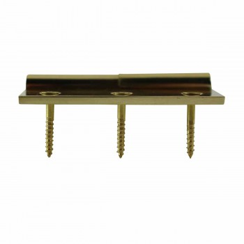 "<PRE>Cabinet Hinge Solid Brass Square LOR 2inch x 2.5"" </PRE>zoom5"