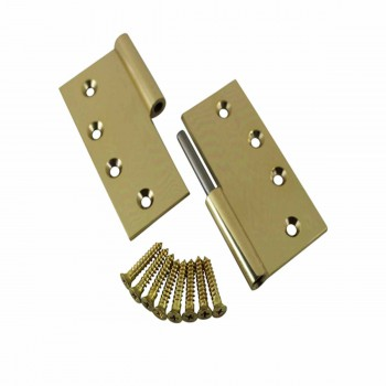 <PRE>4inch Lift Off Right Brass Door Hinge No Finial </PRE>zoom3