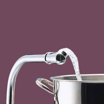 Kitchen Faucet Chrome HiRise 2 Lever Handles Centerset Sink Faucet Sink Faucets Faucets