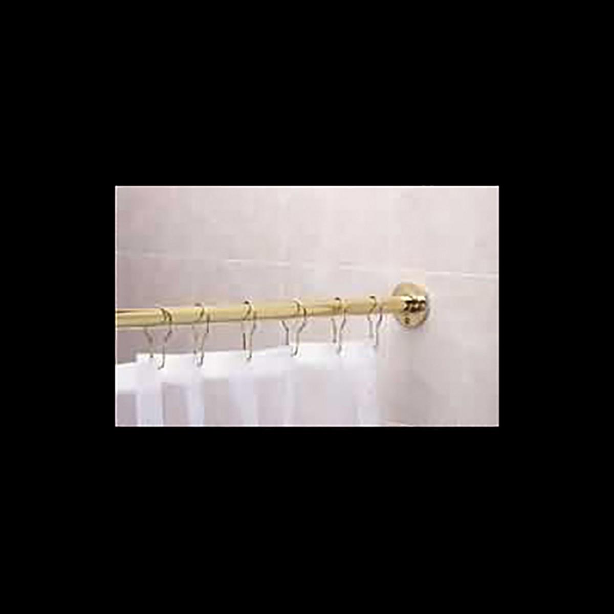 Brass Shower Curtain Rod 5 Feet Long Shower Rod Shower Curtain Rod Shower Curtain Rods