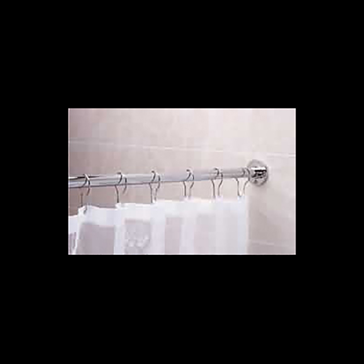 Shower Curtain Rod Bright Chrome 5 Long Shower Rod Shower Curtain Rod Shower Curtain Rods
