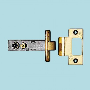 <PRE>Door Latches Bright Solid Brass 2.75inch Backset </PRE>zoom2