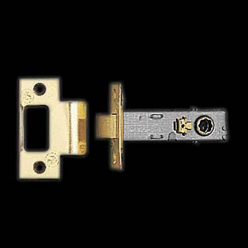 <PRE>Door Latches Bright Solid Brass 2.75inch Backset </PRE>zoom3