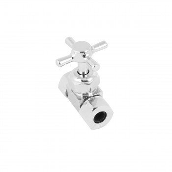 <PRE>Chrome-Plated Tub Supply Lines Double Shutoff Valves Offset 2 1/2inch Flange</PRE>zoom6