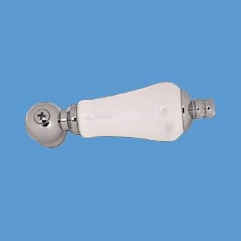 Chrome Porcelain Faucet Lever Handle Replacement Part Bathroom Faucet Part Faucet Part Faucet Parts