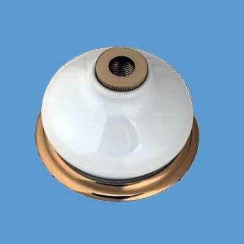 Brass Porcelain Bell For Widespread Faucet Replacement Part Bathroom Faucet Part Faucet Part Faucet Parts