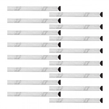 <PRE>Renovator's Supply Crown Molding Urethane Xanna Ornate Design 16 Pieces Totaling 1240inch Length</PRE>zoom1