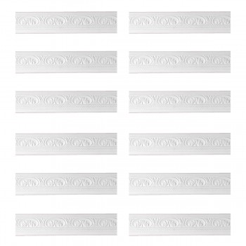 <PRE>Renovator's Supply Cornice White Urethane Donnegal Ornate Design 12 Pieces Totaling 946.5inch Length</PRE>zoom1