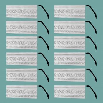 <PRE>Renovator's Supply Cornice White Urethane Garden Ornate Design 12 Pieces Totaling 946.5inch Length</PRE>zoom2