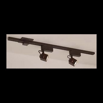 <PRE>Track Lighting Black 3 Foot Track w/2 Light Set </PRE>zoom3