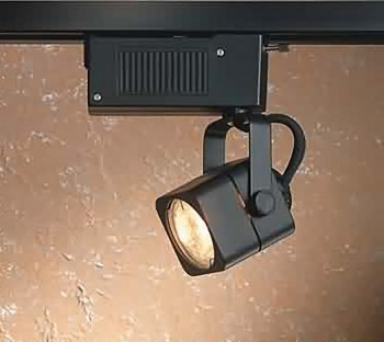 <PRE>Track Lighting Black 4 Foot Track w/2 Light Set </PRE>zoom3