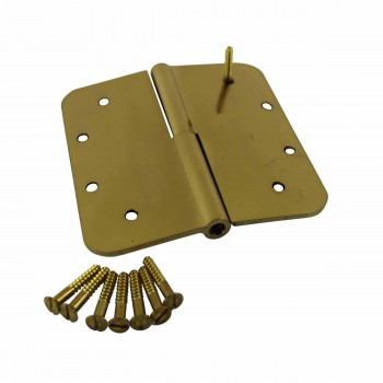 <PRE>Lift Off Right Door Hinge Bright Solid Brass Radius 5inch </PRE>zoom4