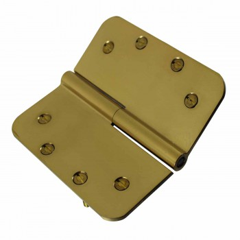 <PRE>Lift Off Right Door Hinge Bright Solid Brass Radius 5inch </PRE>zoom6