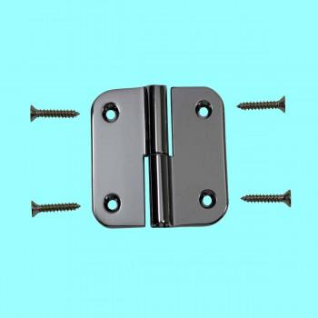Lift Off Right 2 Cabinet Hinge Bright Chrome Radius Door Hinges Door Hinge Solid Brass Hinge