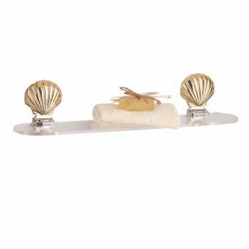 Sea Crest Shelf Brass 23.5