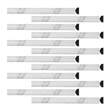 <PRE>Renovator's Supply Crown Molding Urethane Xanna Ornate Design 12 Pieces Totaling 930inch Length</PRE>zoom1