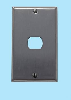 <PRE>Switchplate Brushed Stainless Steel 1 Interchang/Despard </PRE>