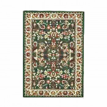 "<PRE>Rectangular Area Rug 7' 6inch x  5' 3"" Green Polypropylene </PRE>zoom1"