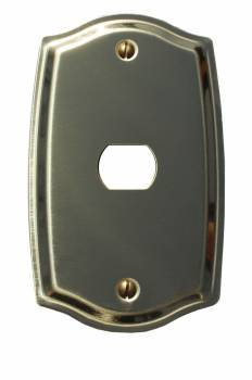 <PRE>Switch Plate Solid Brass 1 Interchangeable/Despard </PRE>zoom1