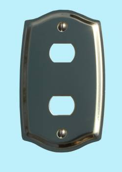 <PRE>Switch Plate Solid Brass 2 Despard/Interchange </PRE>zoom2
