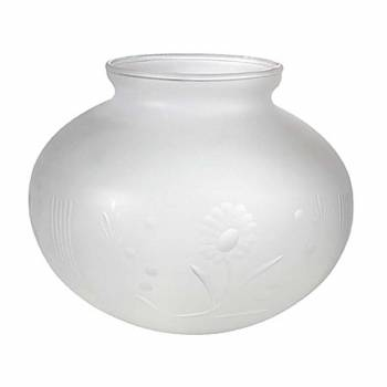 <PRE>Lamp Shade White Milk Glass Globe 3 1/4&quot; Fitter 5&quot; H 6&quot; Dia</PRE>