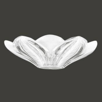 <PRE>Lamp Shade Clear Glass Leaf Dome Shade </PRE>