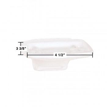 spec-<PRE>Wall Mount Toothbrush Holder White Porcelain </PRE>